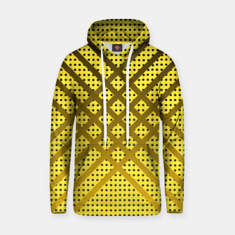 Thumbnail image of Happy Yellow Cotton hoodie, Live Heroes