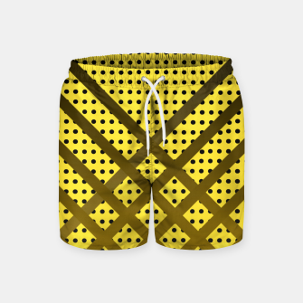 Thumbnail image of Happy Yellow Swim Shorts, Live Heroes