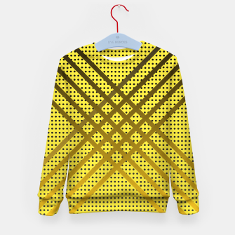 Thumbnail image of Happy Yellow Kid's sweater, Live Heroes