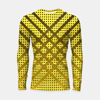 Thumbnail image of Happy Yellow Longsleeve rashguard , Live Heroes