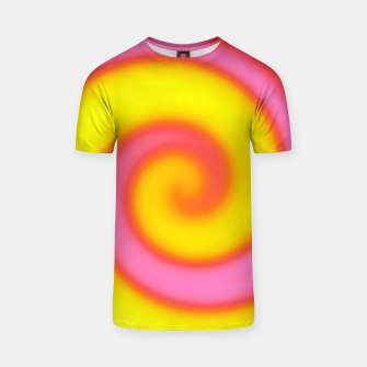Thumbnail image of Pink Yellow Swirl Abstract, Live Heroes
