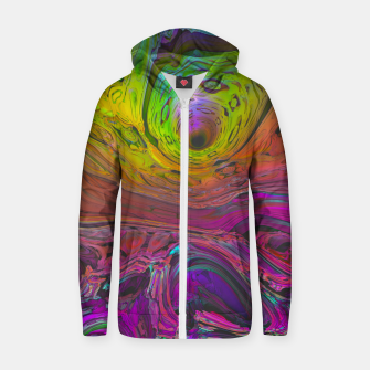 Thumbnail image of Mineral Cotton zip up hoodie, Live Heroes