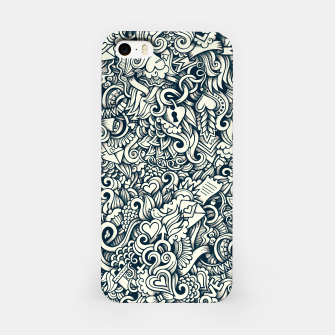 Thumbnail image of love doodle iPhone Case, Live Heroes