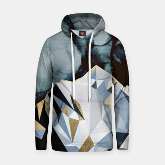 Thumbnail image of Midnight Peaks Cotton hoodie, Live Heroes