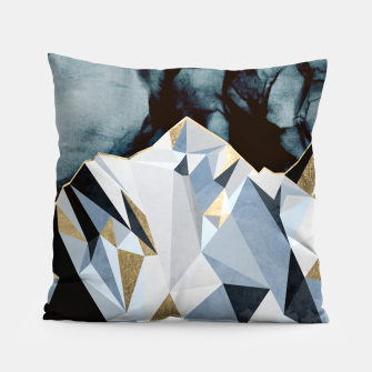 Thumbnail image of Midnight Peaks Pillow, Live Heroes
