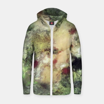 Thumbnail image of Sediment Cotton zip up hoodie, Live Heroes