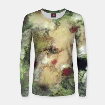 Thumbnail image of Sediment Woman cotton sweater, Live Heroes