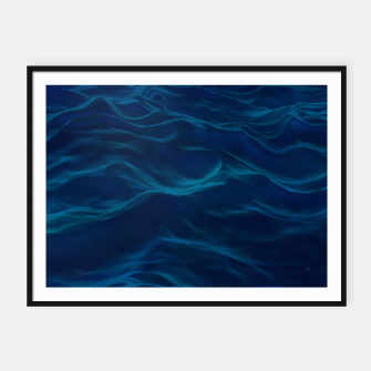 Thumbnail image of Dark Waves Black Framed Poster Horizontal, Live Heroes