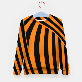 Thumbnail image of Modern Sunset Kid's sweater, Live Heroes
