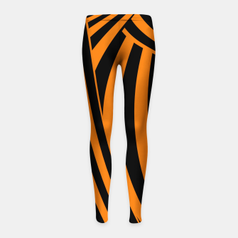 Miniature de image de Modern Sunset Girl's leggings, Live Heroes