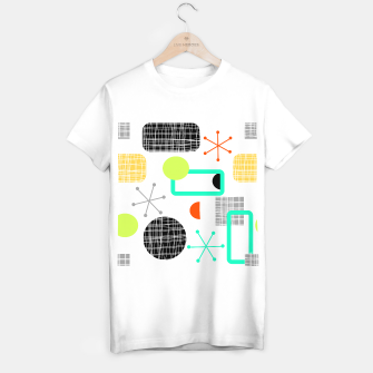 Thumbnail image of Geometric Funky Colorful Bold Design T-shirt regular, Live Heroes