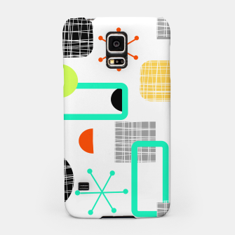 Thumbnail image of Geometric Funky Colorful Bold Design Samsung Case, Live Heroes
