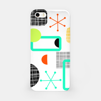Thumbnail image of Geometric Funky Colorful Bold Design iPhone Case, Live Heroes