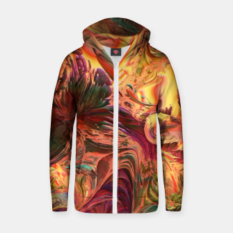 Thumbnail image of Sand splash Cotton zip up hoodie, Live Heroes