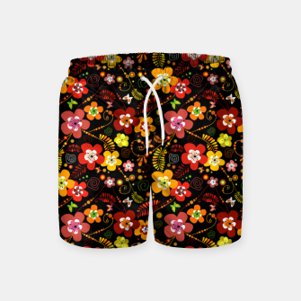 Thumbnail image of Sunset Love Swim Shorts, Live Heroes