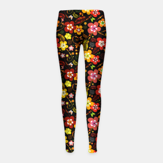 Thumbnail image of Sunset Love Girl's leggings, Live Heroes