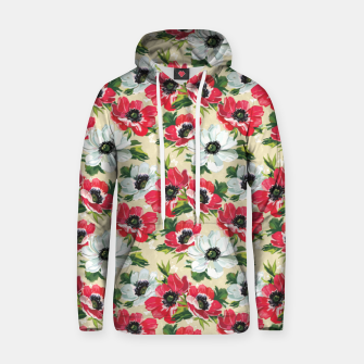 Thumbnail image of Morning Love Cotton hoodie, Live Heroes
