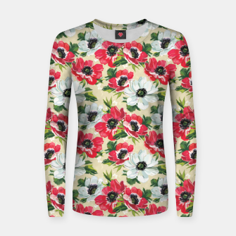 Miniatur Morning Love Woman cotton sweater, Live Heroes