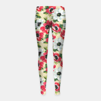Thumbnail image of Morning Love Girl's leggings, Live Heroes