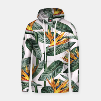 Thumbnail image of Bird Of Paradise Pattern  Cotton hoodie, Live Heroes