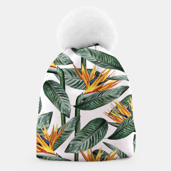 Thumbnail image of Bird Of Paradise Pattern  Beanie, Live Heroes