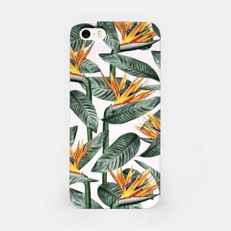 Thumbnail image of Bird Of Paradise Pattern  iPhone Case, Live Heroes