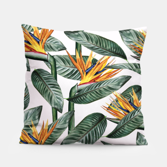 Miniatur Bird Of Paradise Pattern  Pillow, Live Heroes