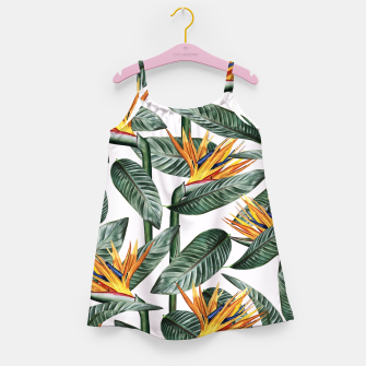 Thumbnail image of Bird Of Paradise Pattern  Girl's dress, Live Heroes