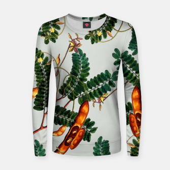 Miniatur Under the Tamarind Tree Woman cotton sweater, Live Heroes