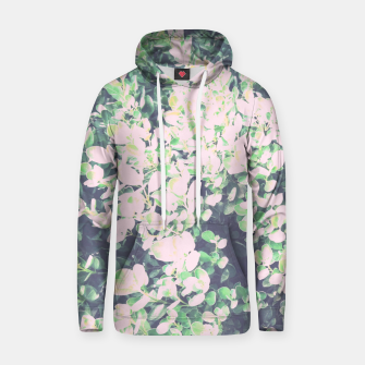 Thumbnail image of Foliage Pattern V7 Cotton hoodie, Live Heroes