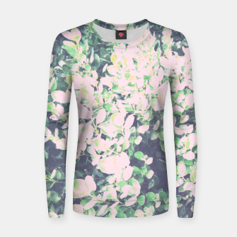 Thumbnail image of Foliage Pattern V7 Woman cotton sweater, Live Heroes