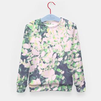 Thumbnail image of Foliage Pattern V7 Kid's sweater, Live Heroes