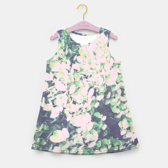 Thumbnail image of Foliage Pattern V7 Girl's summer dress, Live Heroes