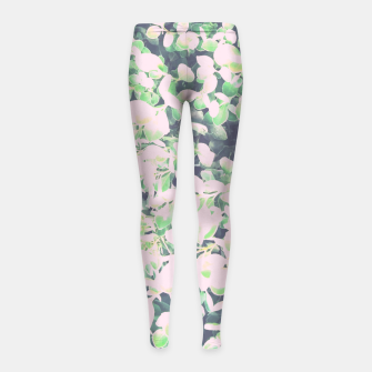 Thumbnail image of Foliage Pattern V7 Girl's leggings, Live Heroes