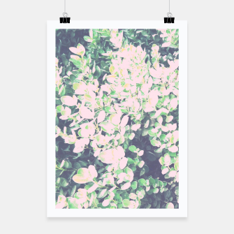 Thumbnail image of Foliage Pattern V7 Poster, Live Heroes