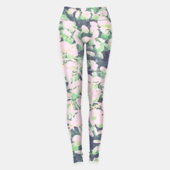 Thumbnail image of Foliage Pattern V7 Leggings, Live Heroes