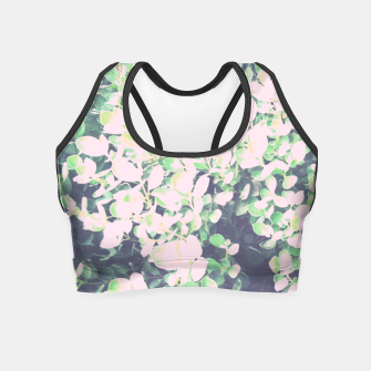 Thumbnail image of Foliage Pattern V7 Crop Top, Live Heroes