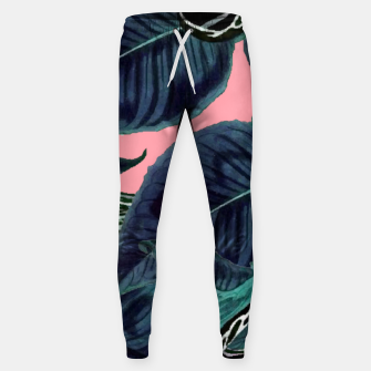 Thumbnail image of Tropical Flower Pattern Cotton sweatpants, Live Heroes
