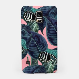 Thumbnail image of Tropical Flower Pattern Samsung Case, Live Heroes