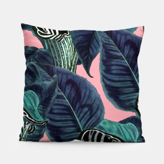 Miniatur Tropical Flower Pattern Pillow, Live Heroes