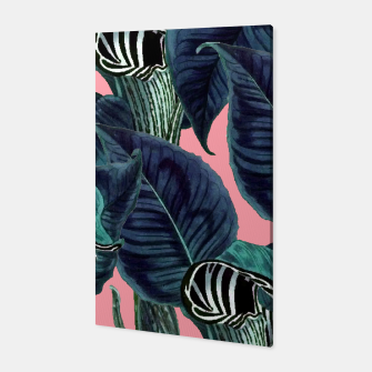 Thumbnail image of Tropical Flower Pattern Canvas, Live Heroes