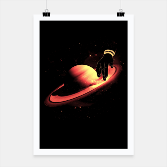 Thumbnail image of Saturntable Poster, Live Heroes