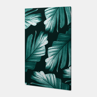Thumbnail image of Tropical Banana Leaves Dream #2 #foliage #decor #art Canvas, Live Heroes
