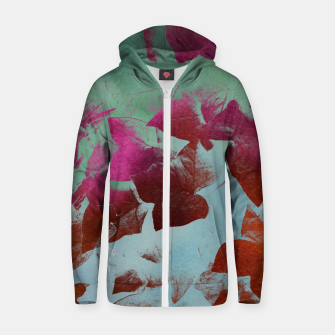 Thumbnail image of Ivy Cotton zip up hoodie, Live Heroes