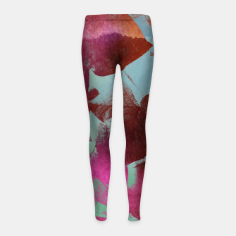 Thumbnail image of Ivy Girl's leggings, Live Heroes