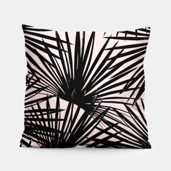 Miniatur Tropical Fan Palm Leaves #1 #tropical #decor #art Kissen, Live Heroes