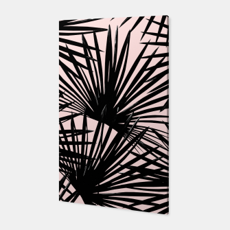 Thumbnail image of Tropical Fan Palm Leaves #1 #tropical #decor #art Canvas, Live Heroes