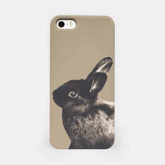 Thumbnail image of Little Rabbit on Sepia #1 #decor #art iPhone-Hülle, Live Heroes