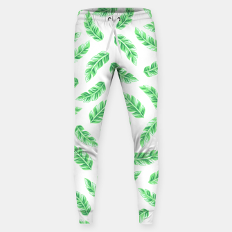 Imagen en miniatura de Block Palm Leaf Print Cotton sweatpants, Live Heroes