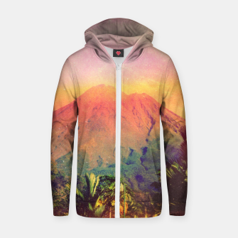 Thumbnail image of Adalita Volcan Cotton zip up hoodie, Live Heroes